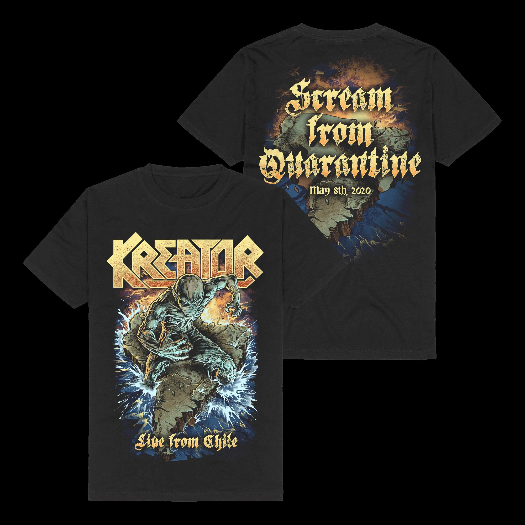 √Scream From Quarantine von Kreator - T-Shirt jetzt im Kreator Shop
