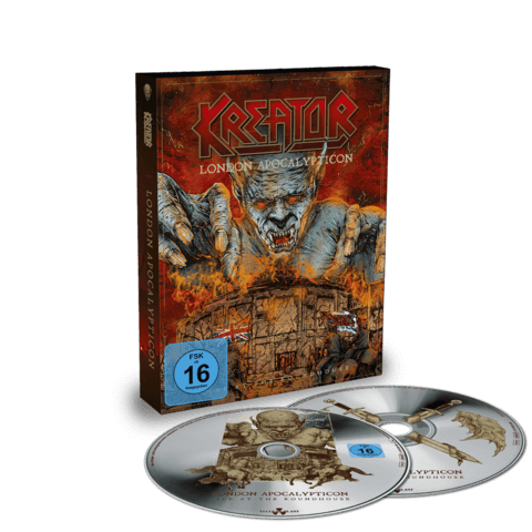 London Apocalypticon - Live At The Roundhouse (CD-Digi + BluRay) von Kreator - Deluxe CD jetzt im Kreator Shop