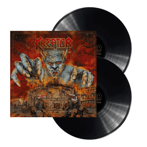 √London Apocalypticon - Live At The Roundhouse von Kreator - LP jetzt im Kreator Shop