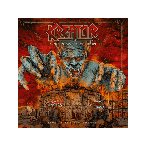 London Apocalypticon - Live At The Roundhouse von Kreator - CD jetzt im Kreator Shop