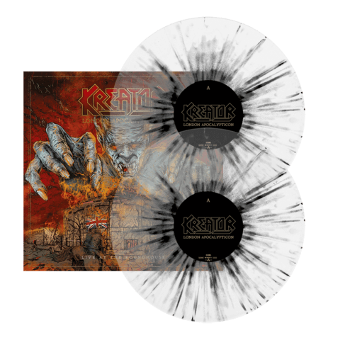 √London Apocalypticon - Live At The Roundhouse (Ltd. Clear / Black Splatter LP) von Kreator - LP jetzt im Kreator Shop
