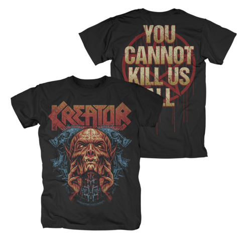 √You Cannot Kill Us All von Kreator - T-Shirt jetzt im Kreator Shop