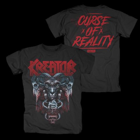 √Curse Of Reality von Kreator - T-Shirt jetzt im Kreator Shop