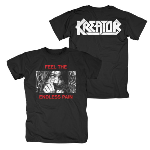 √Feel The Endless Pain von Kreator - T-Shirt jetzt im Kreator Shop