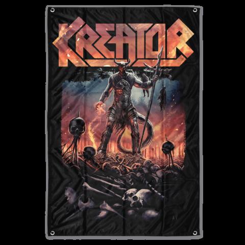 √Warrior von Kreator - Poster Flag jetzt im Kreator Shop