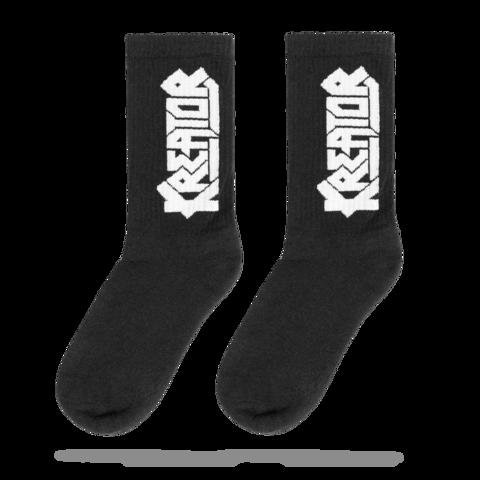 White Logo von Kreator - Socken jetzt im Kreator Shop