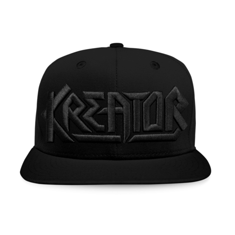 √Black on Black Logo von Kreator - Cap jetzt im Kreator Shop