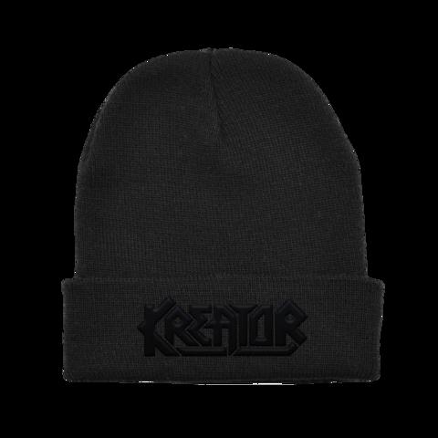 Black on Black Logo von Kreator - Beanie jetzt im Kreator Shop