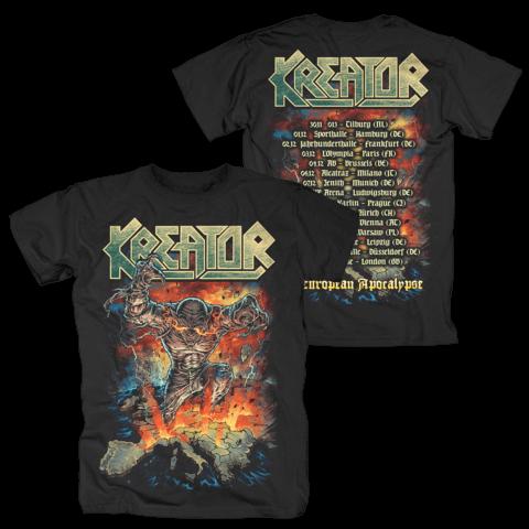 √The European Apocalyse von Kreator - T-Shirt jetzt im Kreator Shop