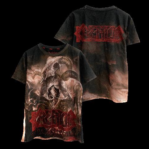 √Gods Of Violence von Kreator - T-Shirt Allover jetzt im Kreator Shop