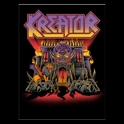 Castle von Kreator - Print jetzt im Kreator Shop