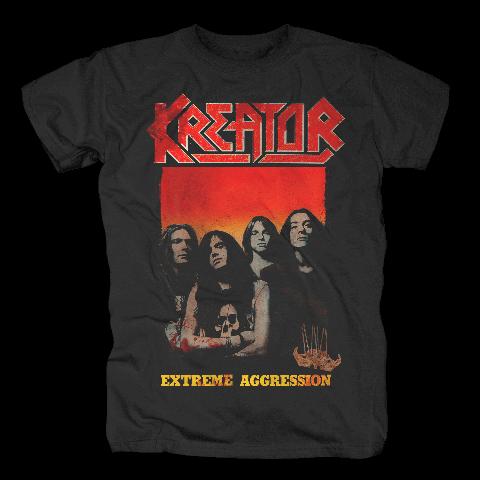 √Extreme Aggression von Kreator - T-Shirt jetzt im Kreator Shop