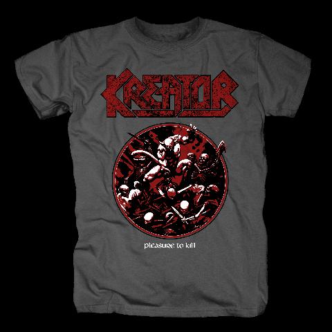 Pleasure To Kill Circle von Kreator - T-Shirt jetzt im Kreator Shop