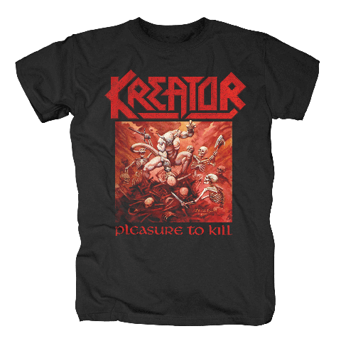 √Pleasure To Kill von Kreator - T-Shirt jetzt im Kreator Shop