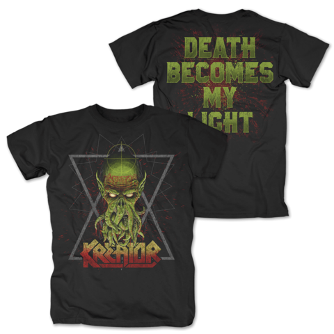 √Death Becomes My Light von Kreator - T-Shirt jetzt im Kreator Shop