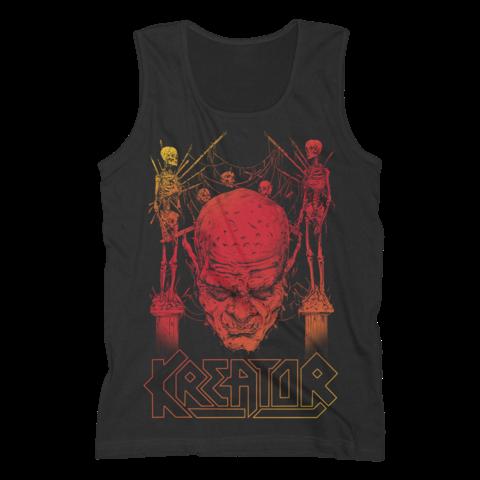 √Sunset Skull von Kreator - Tank Shirt Men jetzt im Kreator Shop
