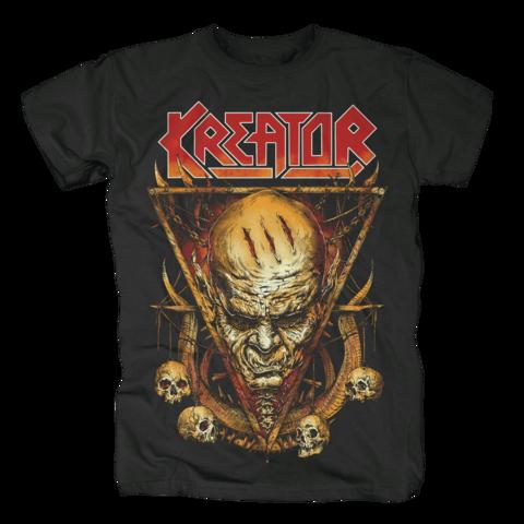 √Face Horns von Kreator - T-Shirt jetzt im Kreator Shop