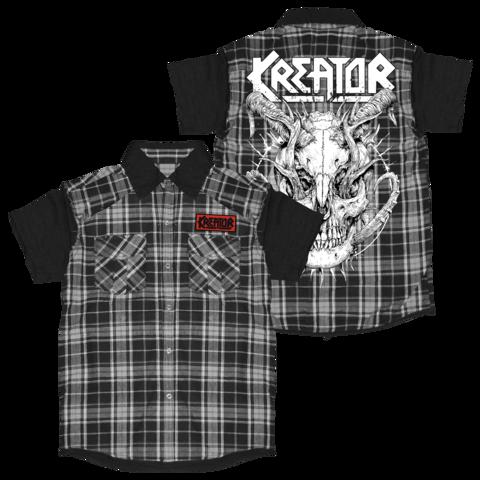 Skull Horns von Kreator - Worker Shirt jetzt im Kreator Shop