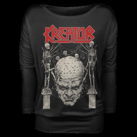 √Skull N Skeletons von Kreator - Girlie long-sleeve jetzt im Kreator Shop