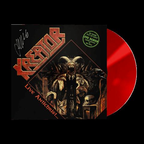 √Live Antichrist... - Limited Red Vinyl von Kreator - Picture Vinyl jetzt im Kreator Shop