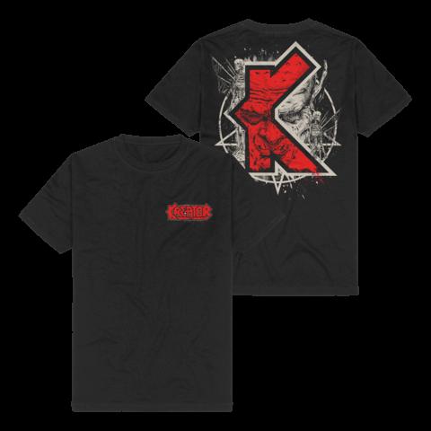 √K-Line Pentagram Demon von Kreator - T-Shirt jetzt im Kreator Shop