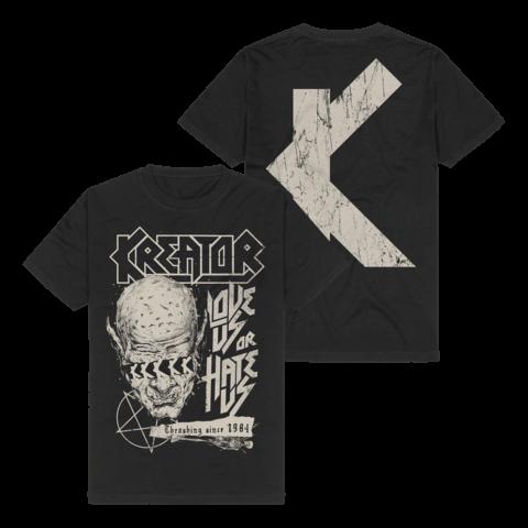 Love Us Or Hate Us von Kreator - T-Shirt jetzt im Kreator Shop