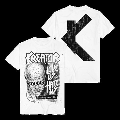 √Love Us Or Hate Us von Kreator - T-Shirt jetzt im Kreator Shop