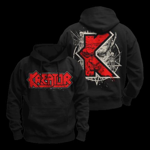 K-Line Pentagram Demon von Kreator - Kapuzenpullover jetzt im Kreator Shop
