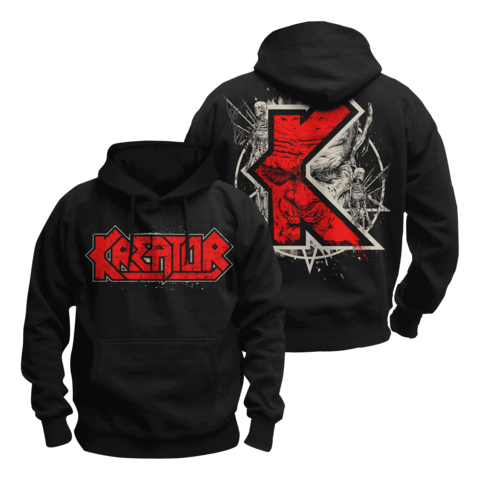 √K-Line Pentagram Demon von Kreator - Hood sweater jetzt im Kreator Shop