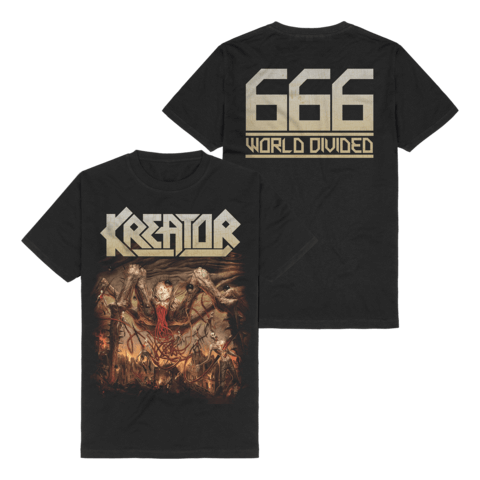 666 - World Divided Single Art von Kreator - T-Shirt jetzt im Kreator Shop