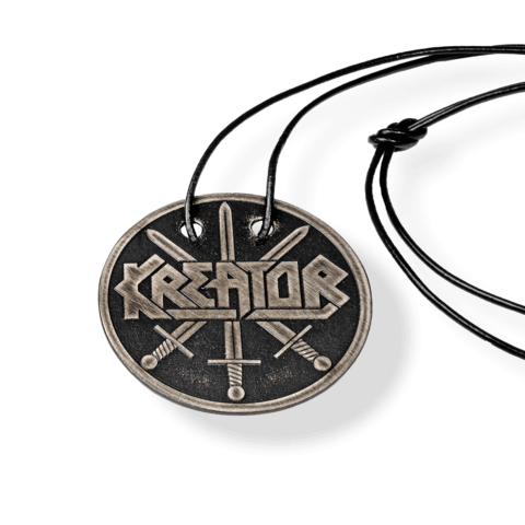 √Kreator Swords von Kreator - Pendant with leather band jetzt im Kreator Shop